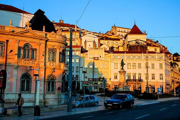 Langs elva i Coimbra