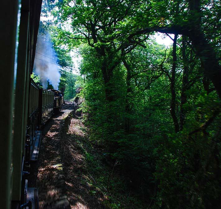 Veterantoget Ffestiniog Railway i Wales