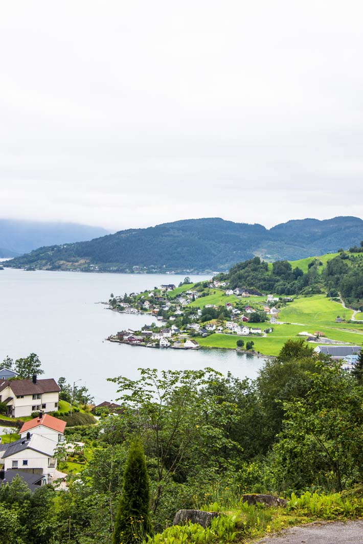 Øystese i Hardanger