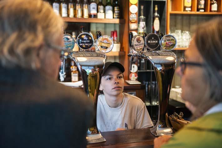 Bartender på Grisen i Oslo