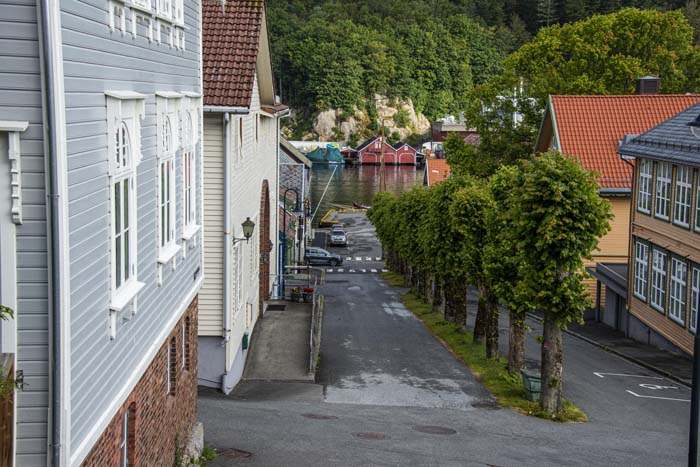 Trehusgata Skriveralmenningen i Egersund
