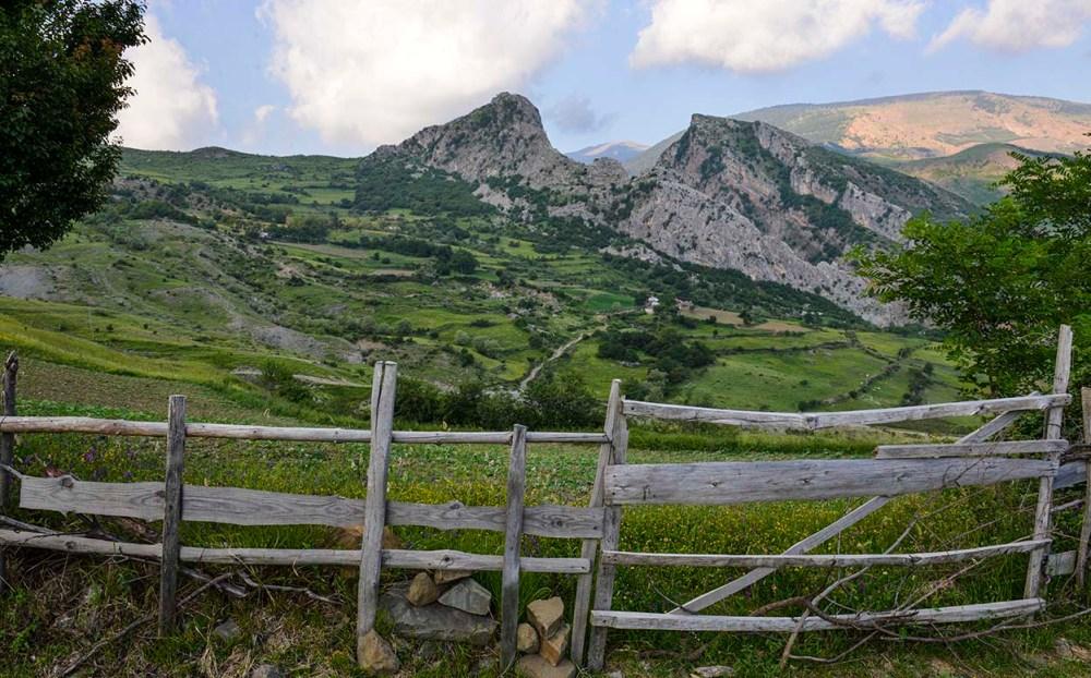 natur i de albanske Valamara.fjellene