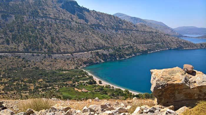 Elinnda Beach på Chios