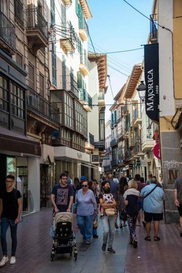 Turister i Palma