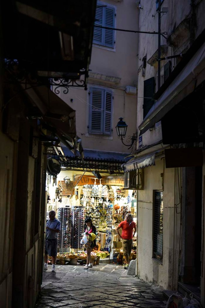 Smug i Korfu by