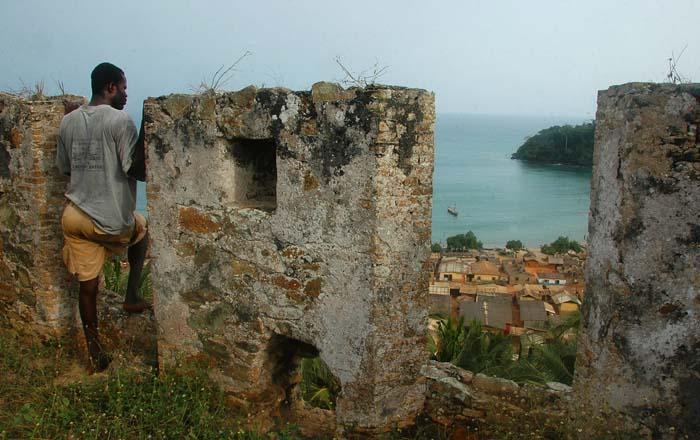 Fort Batenstein i Ghana