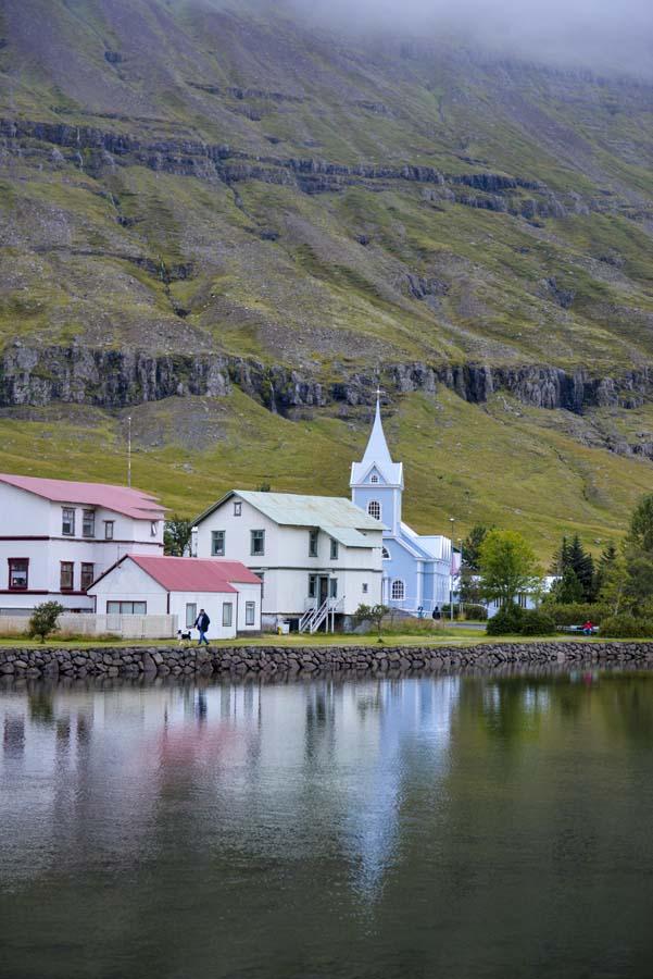 Kirken i Seyðisfjörður