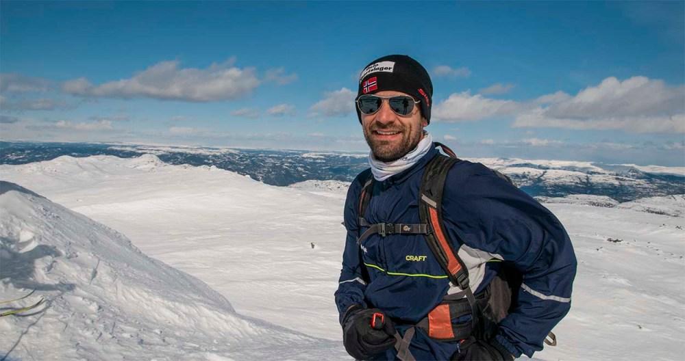 Reiseblogger Gjermund Glesnes på Norefjell