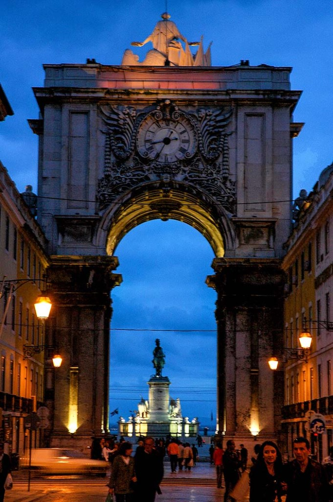 Arco da Rua Augusta i Lisboa