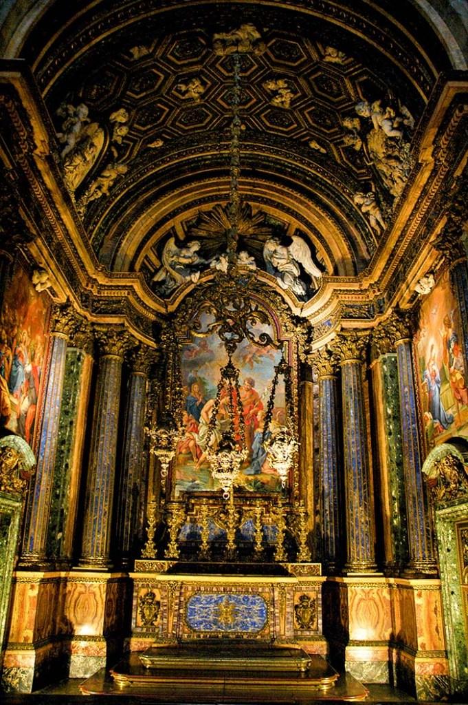 Sao Joao Baptista-kapellet i Igreja de Sao Roque