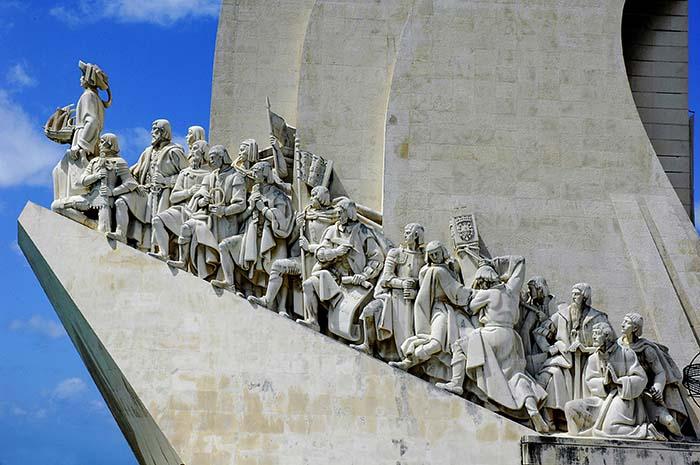 Monumento dos Descobrimentos i Belem