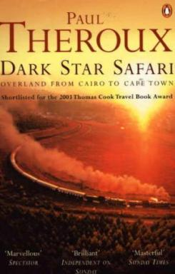Omslaget til reiseboka Dark Star Safari av Paul Theroux