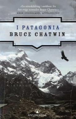 Omslaget til boka I Patagonia av Bruce Chatwin