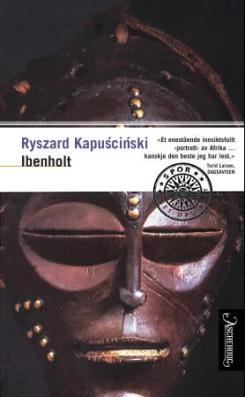 Omslaget til Reiseboken Ibenholt av Ryszard Kapuscinski