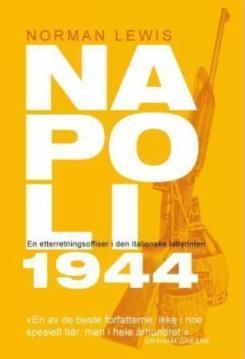 Omslaget til boka Napoli 1944 av Norman Lewis