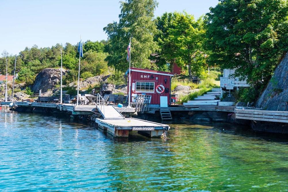 Risør motorbåtforening på Risøya