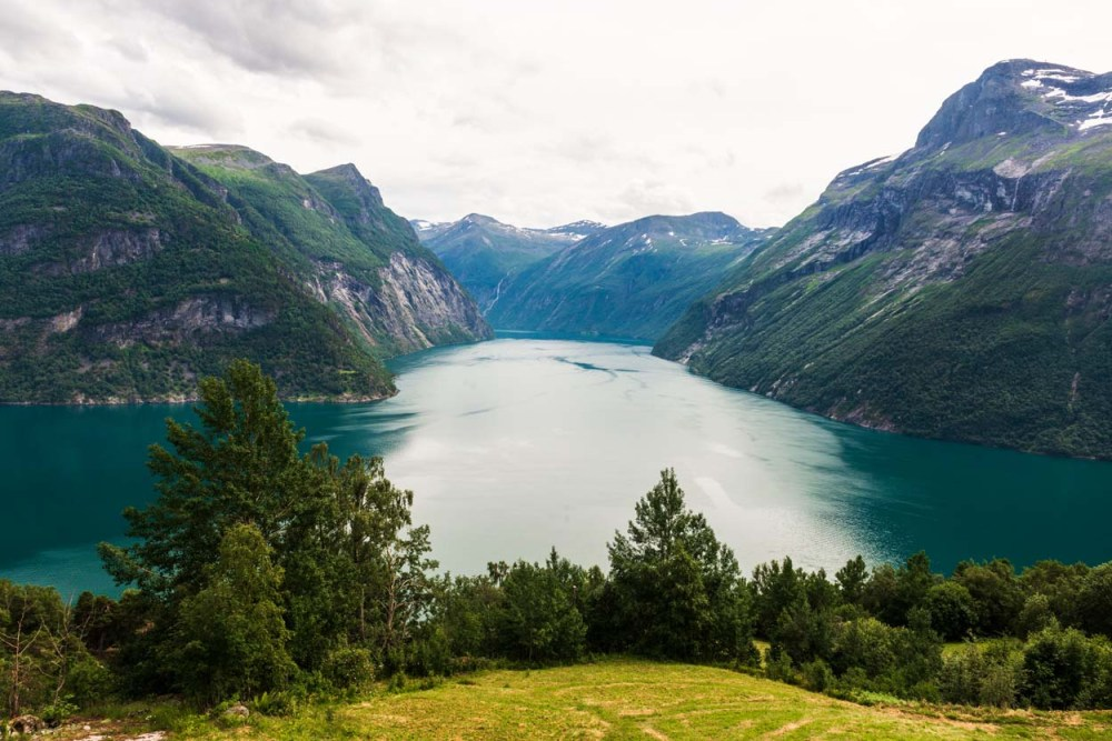 geirangerfjorden fra synnulvsfjorden