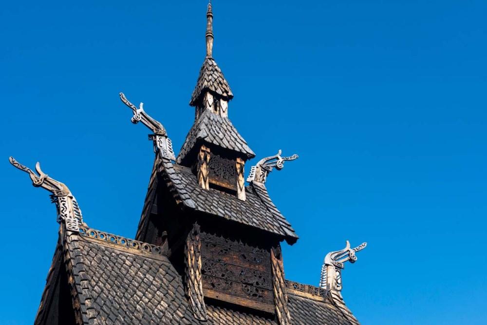 Takjet på Borgund stavkirke