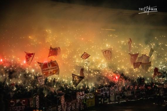 12 on Tour - Belgrade Derby.- De Twaalfde Man