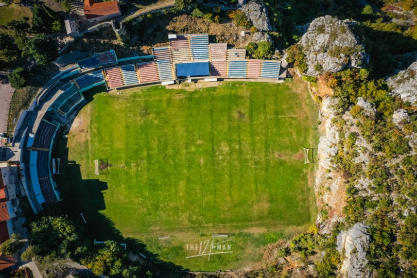 40 Greatest Football Stadiums - StadIon Gospin Dolac