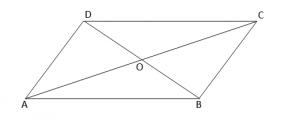 paralelogrami - diagonalet