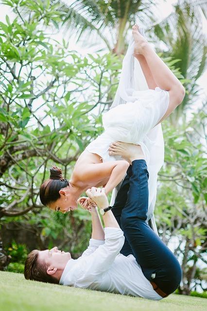 Boa saúde e corpo em movimento até para melhorar a vida do casal