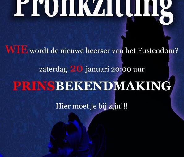 Pronkzitting en prinsenreceptie CV de Deurzakkers Ooij.