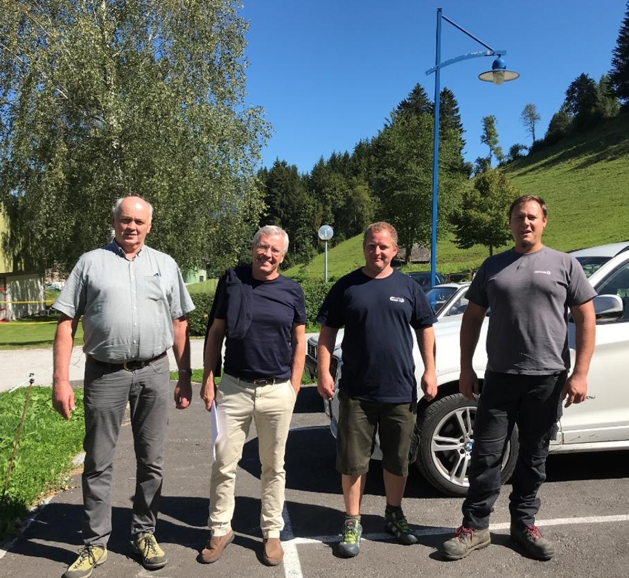 "Akteure bei der ZDF-Reportage ""Blackout Vorsorge in der Gemeinde Lassing"""