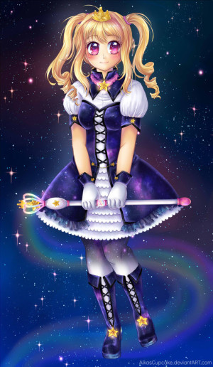 """Galaxy Magical Girl"" by hello-mango"