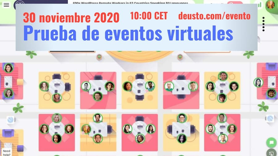 Eventos virtuales: demostración gratuita - 30 nov 2020