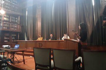 Defensa de tesis doctoral de Leire Gordo
