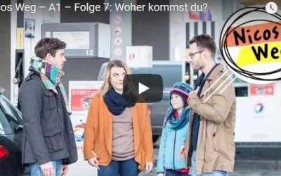 ?Nicos Weg – A1 – Folge 7: Woher kommst du|تعلم الالمانية صوت وصورة مع سلسلةDW المشهورة الحلقة السابعة