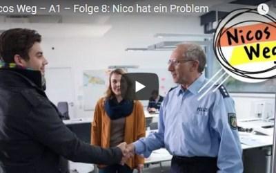 Nicos Weg – A1 – Folge 8: Nico hat ein Problem|تعلم الالمانية صوت وصورة مع سلسلةDW المشهورة الحلقة الثامنة