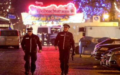 """ألمانيا : إعادة فتح أسواق عيد الميلاد في """" بوتسدام """" وسط تواجد مكثف للشرطة"""