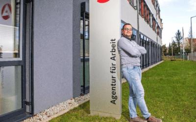 """"""" لن أعود و سأبقى هنا إلى أن أتقاعد """" .. ألمانيا : صحيفة تسلط الضوء على تجربة ناجحة للاجئ سوري في التدريب و العمل و لم الشمل"""