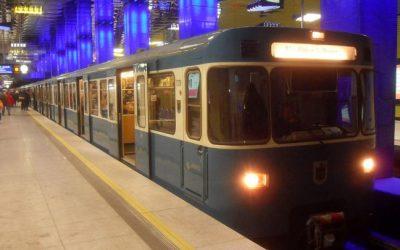"""ألمانيا : """" مترو أنفاق """" يدهس رجلاً مخموراً و يفصل ساقيه عن جسده"""