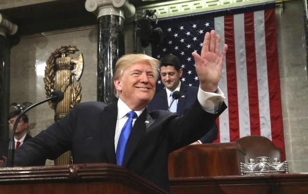 Trump hält wichtige Rede
