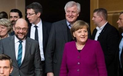 ألمانيا : ترحيب أوروبي و تركي باتفاق تشكيل ائتلاف حكومي