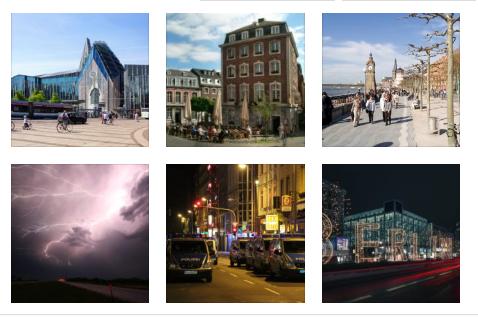 أخطر المدن في المانيا,  جميعها مدن معروفة و مشهورة
