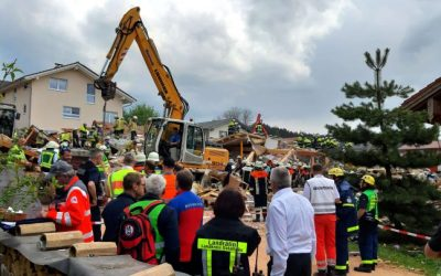 ألمانيا : انفج. ـار ضخم يسوي منزلاً بالأرض وسط ظروف غامضة ( فيديو )