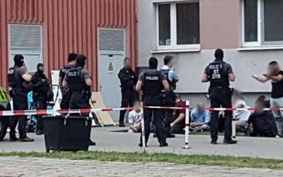 في ألمانيا .. سوريون يطلقون النار في حفل زفاف و الشرطة تواجههم بعملية كبيرة !