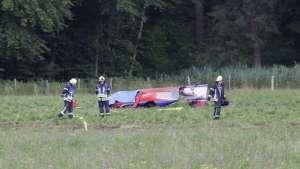 ألمانيا : تحطم طائرة صغيرة و نجاة قائدها
