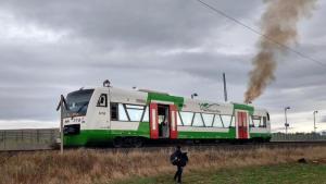ألمانيا : حريق في قطار يشل حركة مرور القطارات بين مدينتين