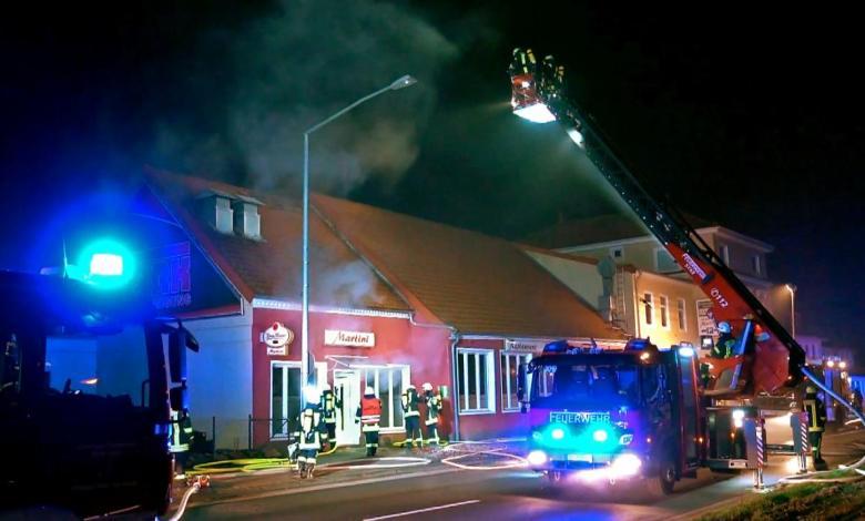 """الشرطة تفترض وجود """" خلفية معادية للأجانب """" وراء حريق متعمد شمالي ألمانيا"""