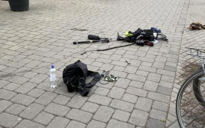 ألمانيا: 25 ملثماً يهاجمون طاقم تصوير تليفزيوني في برلين