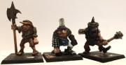 Vintage man eater ogres group