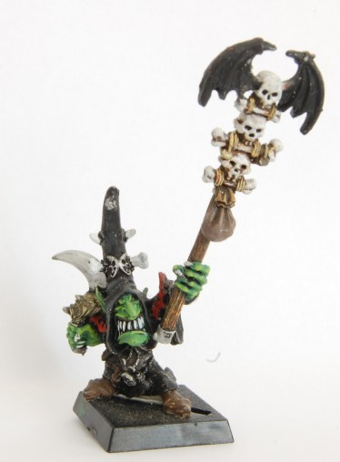 WIP Pyromancy Cave Goblin Witchdoctor