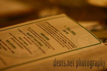 Beto's menu