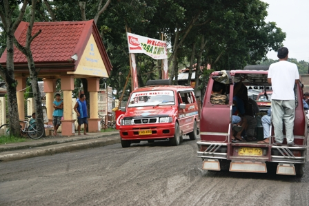 The way via San Miguel