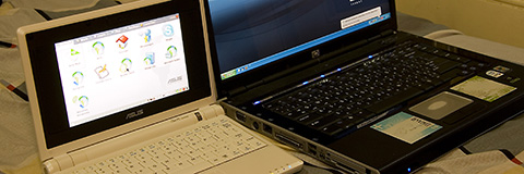 Eee PC vs. HP Pavilion